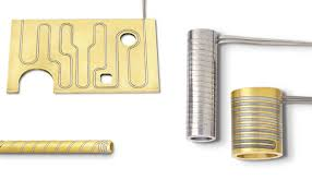 Pressed in Brass Coil Heaters-Manifold
